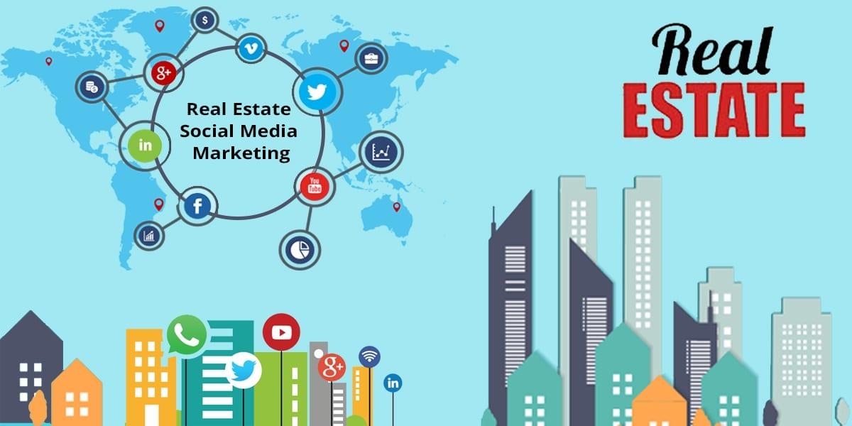 Use Social Media for Real Estate Website Marketing
